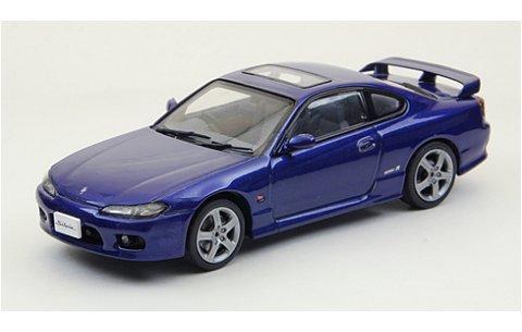 ニッサン シルビア スペックR S15 1999 ブルー (1/43 エブロ44614)