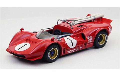 トヨタ 7 1968 JapanGP No1 Hosoya レッド (1/43 エブロ44701)