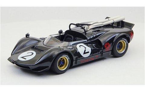 トヨタ 7 1968 JapanGP No2 Fukuzawa ブラック (1/43 エブロ44701)
