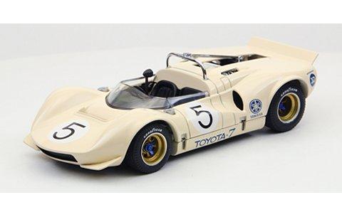 トヨタ 7 1968 JapanGP No5 Otsubo アイボリー (1/43 エブロ44704)