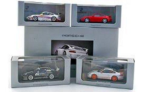 ポルシェ デザイン ドライバーズ セレクション 4台セット (1/43 ミニチャンプスPMA164762)