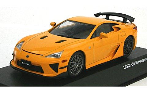 レクサス LFA ニュルブルクリングパッケージ オレンジ/ホイール:ブラッククローム) (1/43 JコレクションJCP71005NO)
