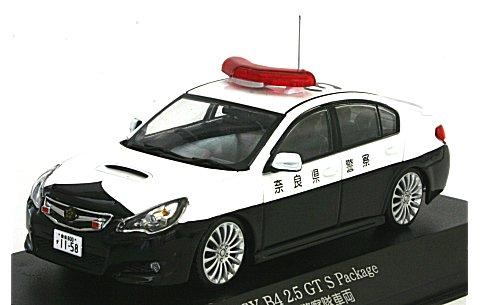 スバル レガシィ B4 2.5GT S Packge 2010 奈良県警察高速道路交通警察隊車両(317) (1/43 レイズH7431006)
