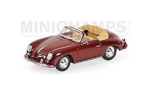 ポルシェ 356 A カブリオレ 1956 レッド (1/43 ミニチャンプス400064231)