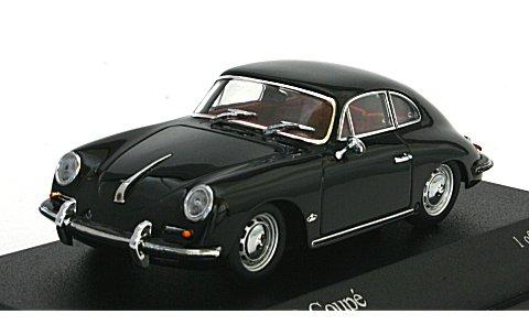 ポルシェ 356 B クーペ 1961 ブラック (1/43 ミニチャンプス400064301)