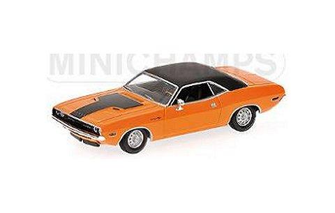 ダッジ チャレンジャー 1970 オレンジ (1/43 ミニチャンプス400144701)