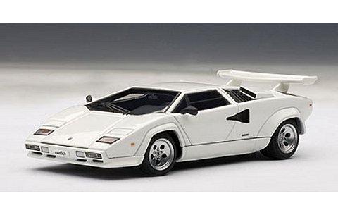 ランボルギーニ カウンタック 5000S ホワイト (1/43 オートアート54533)