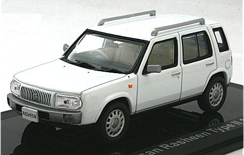 ニッサン ラシーン TypeII 1997 ホワイト (1/43 ノレブ420168)