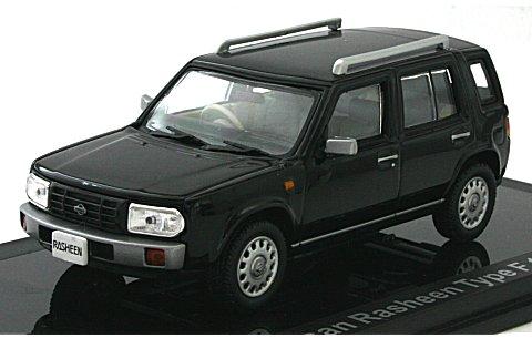 ニッサン ラシーン Type-F 1995 ブラック (1/43 ノレブ420164)