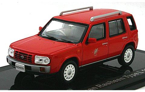 ニッサン ラシーン Type-L 1997 アクティブレッド (1/43 ノレブ420165)