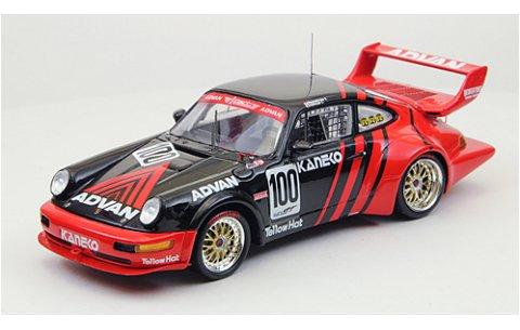 アドバン ポルシェ GT1 JGTC 1994 No100 レッド/ブラック (1/43 エブロ44528)