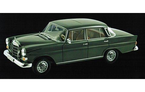 メルセデスベンツ 200 セダン 1966 グレー (1/18 ノレブ183570)