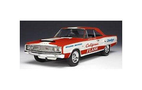 1967 ダッジ コロネット R/T Butch Leal Califonia Flash レッド/ホワイト (1/18 ハイウェイ61HW50831)