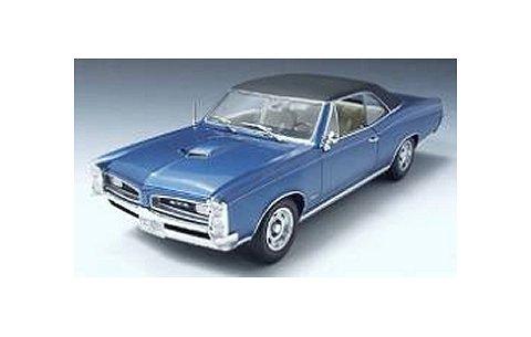 1966 ポンティアック GTO バリアーブルー (1/18 ハイウェイ61HW50776)