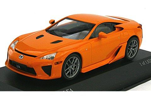 レクサス LF-A 2010 オレンジ (1/43 ミニチャンプス400166020)