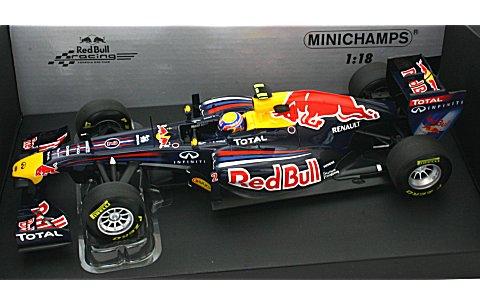 レッドブル レーシング RB7 M・ウェバー 2011 (1/18 ミニチャンプス110110002)
