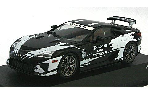 レクサス LFA Pace car 「Toyota Grand Prix of Long Beach」 ブラック/ホワイト (1/43 JコレクションJCP71008PC)