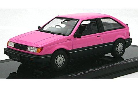 いすゞ ジェミニ 1500 C/C 1987 ペルシャンローズ (1/43 ノレブ800726)