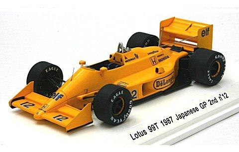ロータス 99T 1987 日本GP 2位 No12 (1/43 レーヴコレクションR70183)