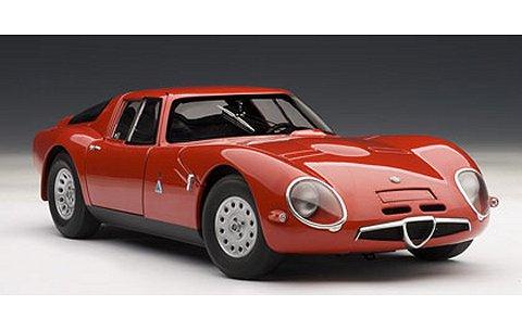 アルファロメオ TZ2 1965 レッド (1/18 オートアート70198)