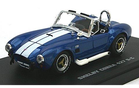 シェルビー コブラ 427S/C ブルー/ホワイト (1/43 京商K03018BL)