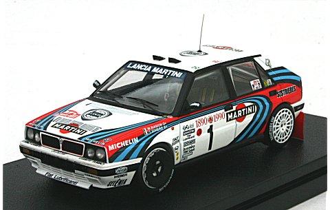 ランチア デルタ HF インテグラーレ 16V No1 1990 モンテカルロ (1/43 hpiレーシング8284)