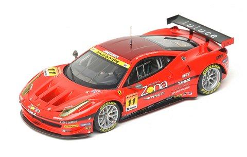 ジェイアイエムゲイナー DIXEL ダンロップ 458 GTC スーパーGT300 2011 (1/43 エブロ44678)