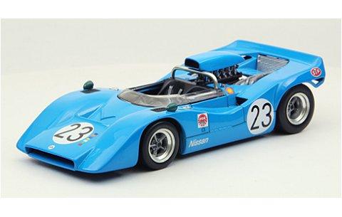 ニッサン R382 ジャパンGP 1969 No23 ブルー (1/43 エブロ44725)