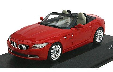 BMW Z4 (E89) 2009 レッド (1/43 ミニチャンプス431028131)