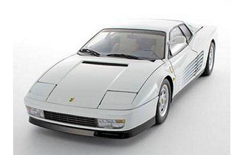 フェラーリ テスタロッサ (前期型) UP GRADE ホワイト (1/18 京商K08424W)