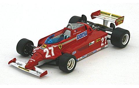 フェラーリ 126CK No27 G・ビルニューブ ウイナー スペインGP 1981 (1/43 イクソSF28/81)