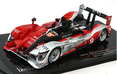 アウディ R15 TDI 2010 ル・マン24時間 LMP1 優勝 (1/43 イクソLM2010)