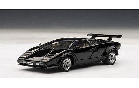 ランボルギーニ カウンタック 5000S ブラック (1/43 オートアート54532)