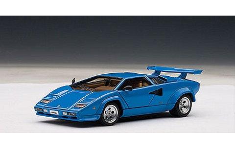 ランボルギーニ カウンタック 5000S ブルー (1/43 オートアート54534)