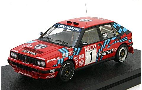 ランチア デルタ HF インテグラーレ 16V No1 1989 サンレモ (1/43 hpiレーシング8226)