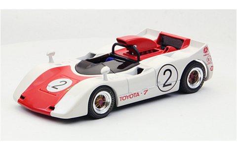 トヨタ 7 ジャパンGP 1969 No2 レッド (1/43 エブロ44718)