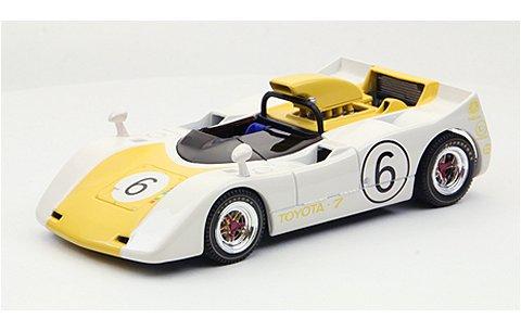 トヨタ 7 ジャパンGP 1969 No6 イエロー (1/43 エブロ44721)