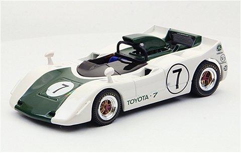 トヨタ 7 ジャパンGP 1969 No7 グリーン (1/43 エブロ44722)
