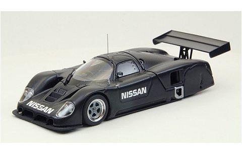 ニッサン R89C シェイクダウンテスト ブラック/ブルー (1/43 エブロ44790)