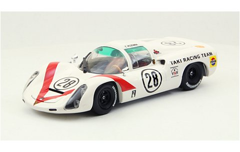 Ikuzawa ポルシェ 910 ジャパンGP 1968 ホワイト (1/43 エブロ44791)