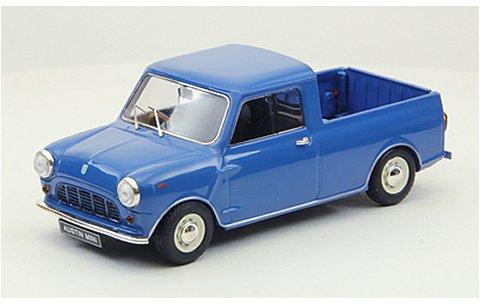 オースチン ミニ 1/4t ピックアップ 1961 ブルー (1/43 エブロ44564)