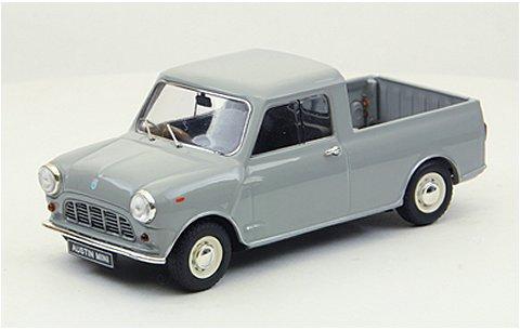 オースチン ミニ 1/4t ピックアップ 1961 グレー (1/43 エブロ44565)