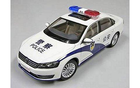 フォルクスワーゲン パサート 中国公安車両 (1/18 上海VW ZVC000003WE1)