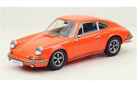 ポルシェ 911 S 1969 オレンジ (1/43 エブロ44796)