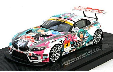 初音ミク GOODSMILE BMW Z4 2011 シリーズ優勝Ver. (1/43 グッドスマイルレーシング42061)