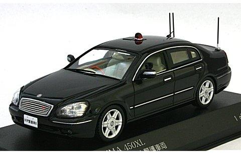 ニッサン シーマ 450XL (F50) 2011 警察本部警備部要人警護車両 (1/43 レイズH7431103)