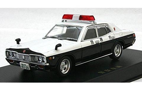 330 セドリック パトロールカー (スクエアソニックタイプ) エンケイディッシュ (1/43 ディズム93771)
