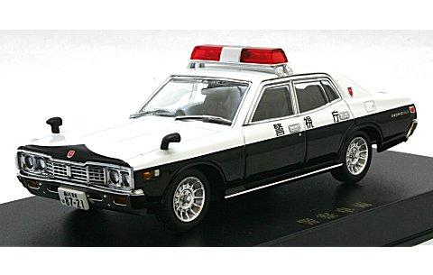 330 セドリック パトロールカー (スクエアソニックタイプ) エンケイバハ (1/43 ディズム93788)