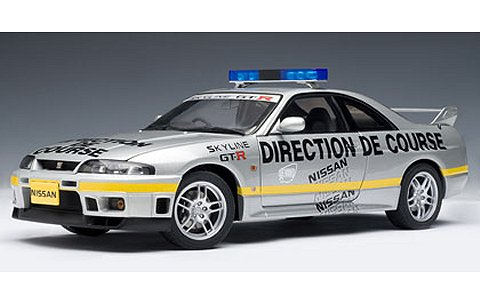 ニッサン スカイライン GT-R (R33) ルマン ペースカー 1997 「DIRECTION DE COURSE」 (1/18 オートアート77329)