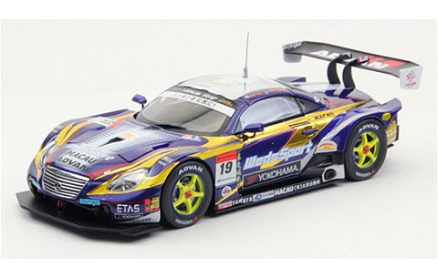 ウェッズスポーツ アドバン SC430 スーパーGT500 2012 No19 (1/43 エブロ44740)